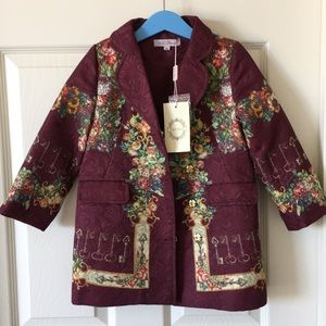 Most stylish and fun Coat for girl. New never used